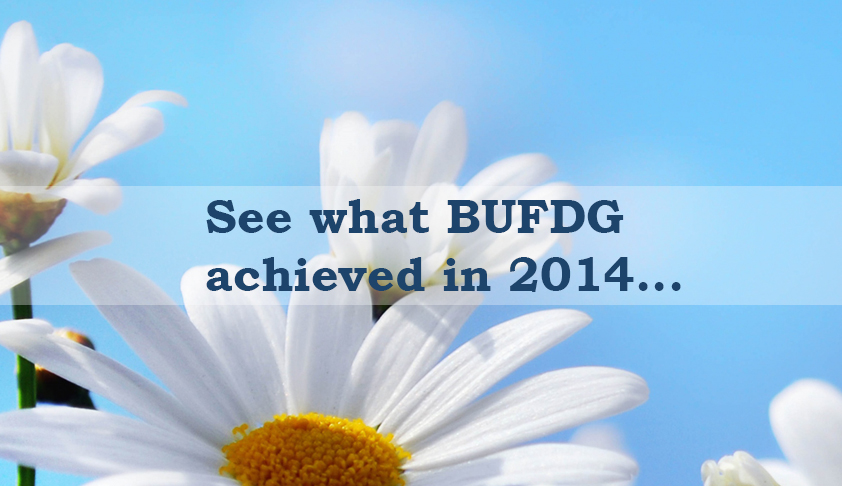 BUFDG Achievements 2014