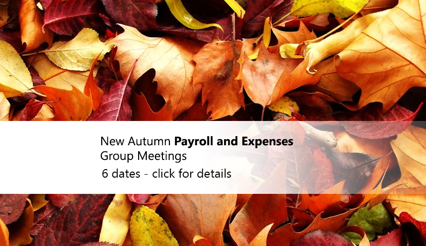 Autumn PEG meetings