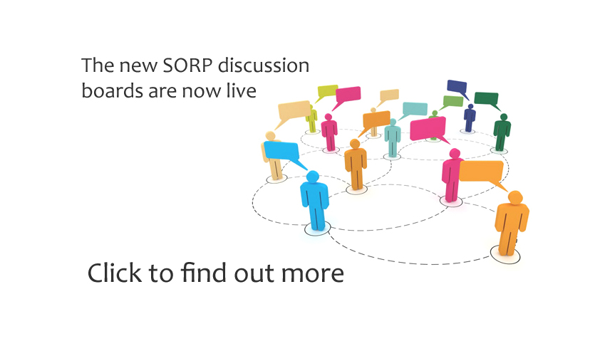 New SORP discussion boards